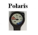 Polaris TOP LINE Finimeter 63 mm - 0 - 300 bar - 39600 -