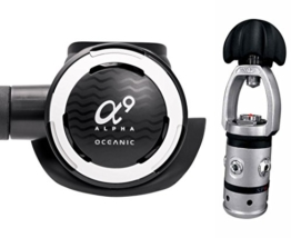 Oceanic Alpha 9/SP-6 Regulator with MaxFlex and DVT - Yoke -