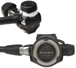 Oceanic EOS Scuba Diving Regulator DVT with Yoke Fitting -
